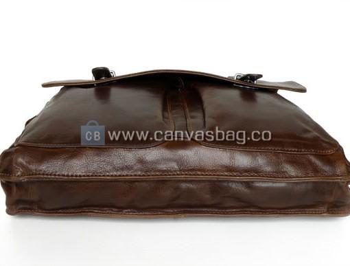 Leather Computer Bag Laptop Bag Leather Messenger Bag - Canvas Bag ...