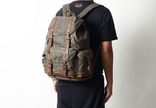 Backpack Canvas Bag