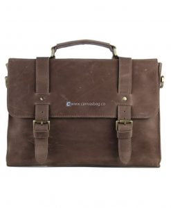 Brown Leather Messenger Bag Leather Briefcase