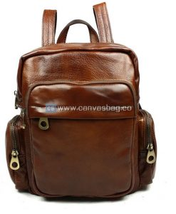 Brown-Leather-Rucksack-Backpack-1