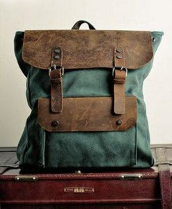 Canvas-Backpack-Travel-Rucksacks-Canvas-Daypack-2