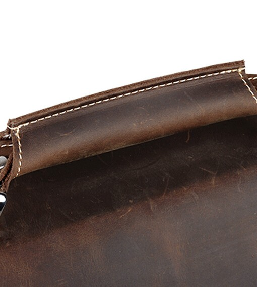 distressed leather messenger bags leather satchel canvas