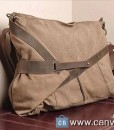 Gray-Leather-bag-Genuine-leather-canvas-bag-Mens-leather-satchel-Briefcase2