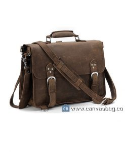 Handcrafted-Leather-Briefcase-Messenger-Laptop-Mens-Bag-in-Dark-Brown-1