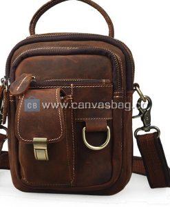 Handmade-Leather-Waist-Bag-14