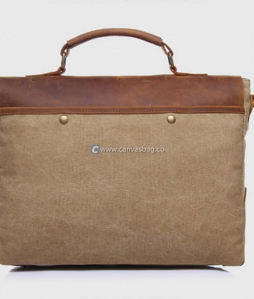 Canvas Messenger Bag Laptop Bags Computer Bags - Canvas Bag ...
