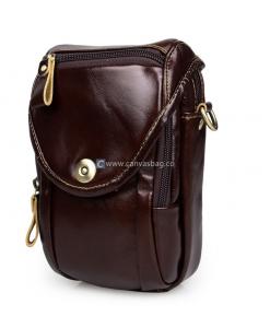 Leather Belt Bag Leather Waist Bag (1)