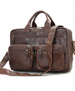 brown leather briefcase mens