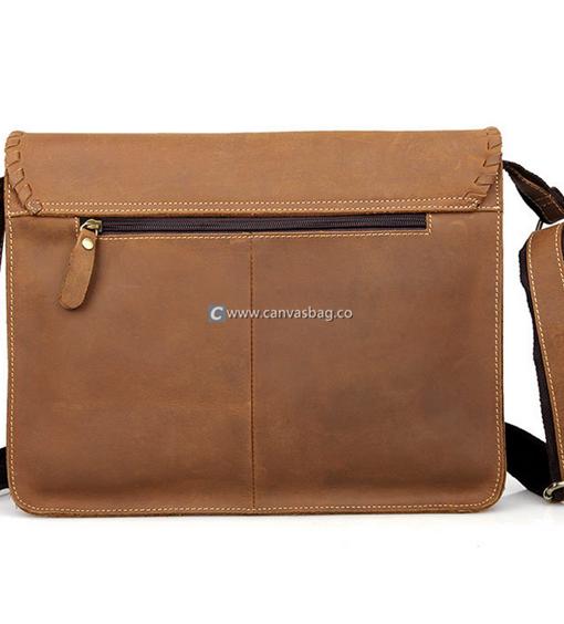 Leather Shoulder Bags Designer Messenger Bags - Canvas Bag Leather ...