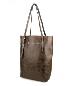 Leather Tote Bag Leather Shoulder Bag (1)
