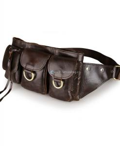 Leather Waist Bag Waist Pack