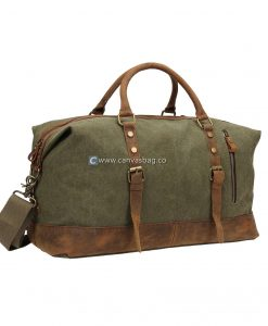 Travel Bags for Men Carry On Bag Canvas Travel Luggage