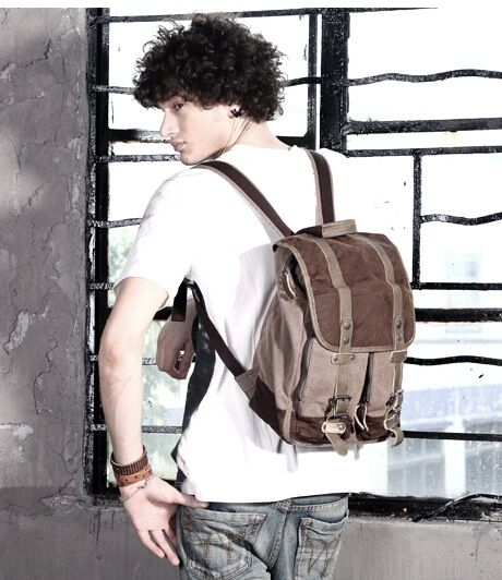 50 Most Hottest Men Street Style Bag to Follow These Days - Canvas ... 5e14a9f25f848