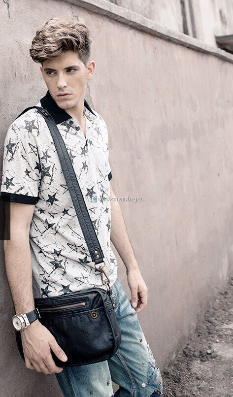 04fcce208e8 50 Most Hottest Men Street Style Bag to Follow These Days - Canvas ...