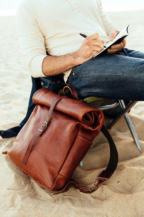 cea1b9dcb2 Mens Tan Leather Bag
