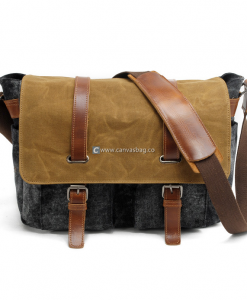 Canvas Camera Bag DSLR Camera Bag (1)