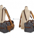 Canvas Luggage Bags Weekend Duffle Bag (10)