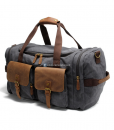 Canvas Luggage Bags Weekend Duffle Bag (2)
