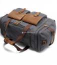 Canvas Luggage Bags Weekend Duffle Bag (4)