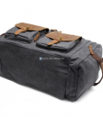 Canvas Luggage Bags Weekend Duffle Bag (5)