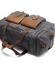 Canvas Luggage Bags Weekend Duffle Bag (6)