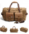Canvas Luggage Bags Weekend Duffle Bag (8)