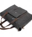 Canvas Side Bag Vintage Canvas Messenger Bag (13)