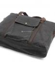 Canvas Side Bag Vintage Canvas Messenger Bag (14)