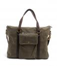 Canvas Side Bag Vintage Canvas Messenger Bag (2)