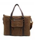 Canvas Side Bag Vintage Canvas Messenger Bag (4)