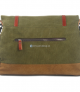 Green Canvas Messenger Bag (4)