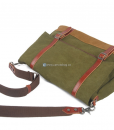 Green Canvas Messenger Bag (7)