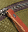 Green Canvas Messenger Bag (9)