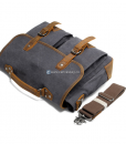 Laptop Messenger Bags Green Canvas Messenger Bag (11)
