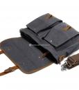 Laptop Messenger Bags Green Canvas Messenger Bag (12)