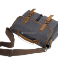Laptop Messenger Bags Green Canvas Messenger Bag (13)