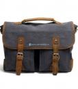 Laptop Messenger Bags Green Canvas Messenger Bag (15)