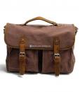 Laptop Messenger Bags Green Canvas Messenger Bag (16)