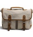 Laptop Messenger Bags Green Canvas Messenger Bag (2)