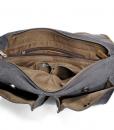 Laptop Messenger Bags Green Canvas Messenger Bag (6)