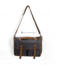 Laptop Messenger Bags Green Canvas Messenger Bag (7)