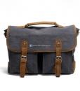Laptop Messenger Bags Green Canvas Messenger Bag (8)
