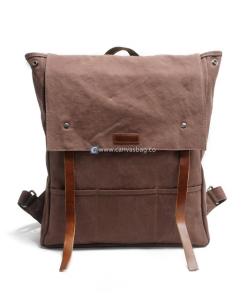 Mens Backpack Canvas Rucksack (1)