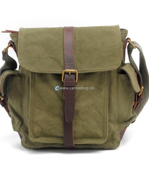 Military Shoulder Bag Canvas Over the Shoulder Bag (1)