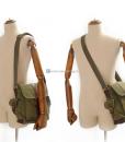 Military Shoulder Bag Canvas Over the Shoulder Bag (17)