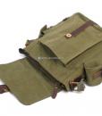 Military Shoulder Bag Canvas Over the Shoulder Bag (20)