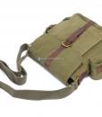 Military Shoulder Bag Canvas Over the Shoulder Bag (4)