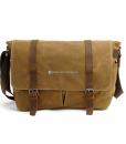 Vintage Canvas Messenger Bag (2)