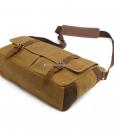 Vintage Canvas Messenger Bag (6)