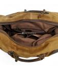 Waterproof Duffel Bag Waxed Canvas Luggage (10)